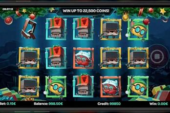 iSoftBet : nouveau jeu Robo Smash version Noël