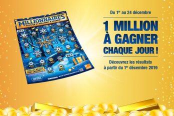 C'est le retour du billet « Millionnaires » en Suisse !