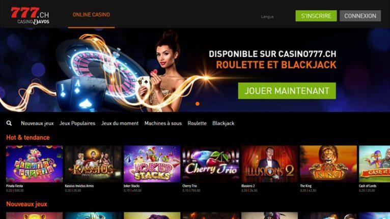 Casino en ligne Casino777.ch