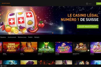 Revue du casino suisse légal et en ligne Casino777.ch